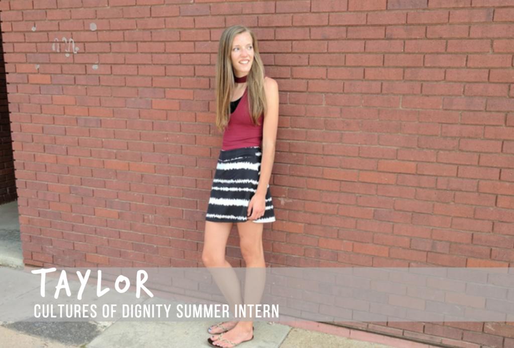 Meet Taylor! Interview with Summer Intern