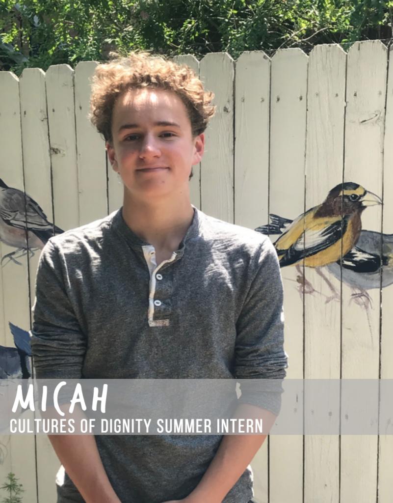 Meet Micah! Interview with Summer Intern