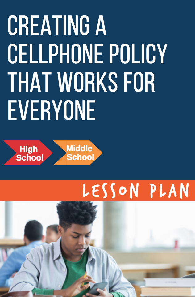Creating a Cellphone Policy That Works for Everyone
