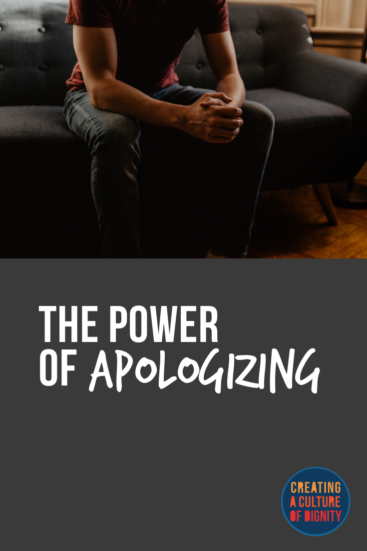 The Power of Apologizing