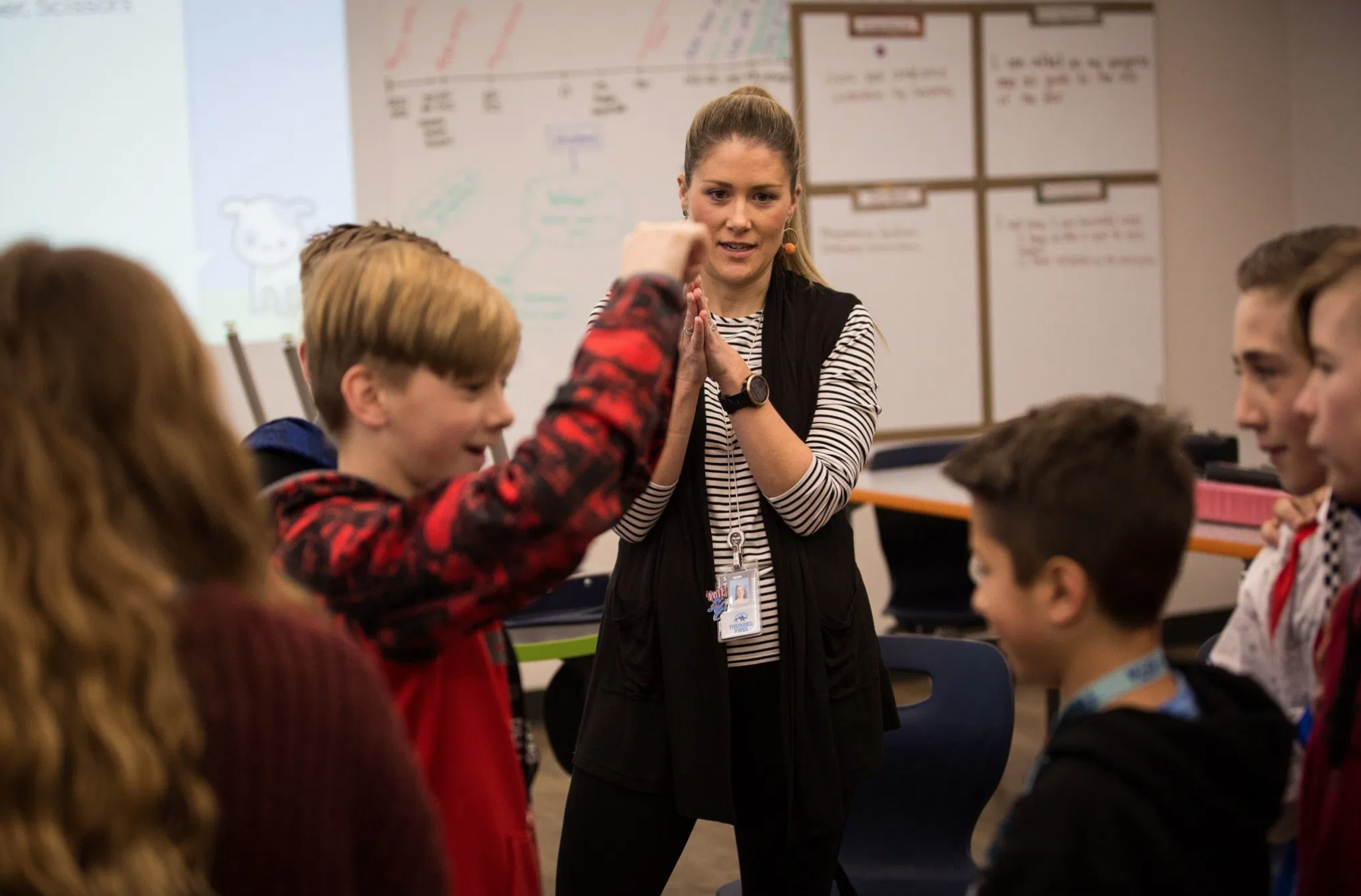 When Teachers Are Stressed, Students Are Stressed. This Program Is Trying To Help Teachers Cope