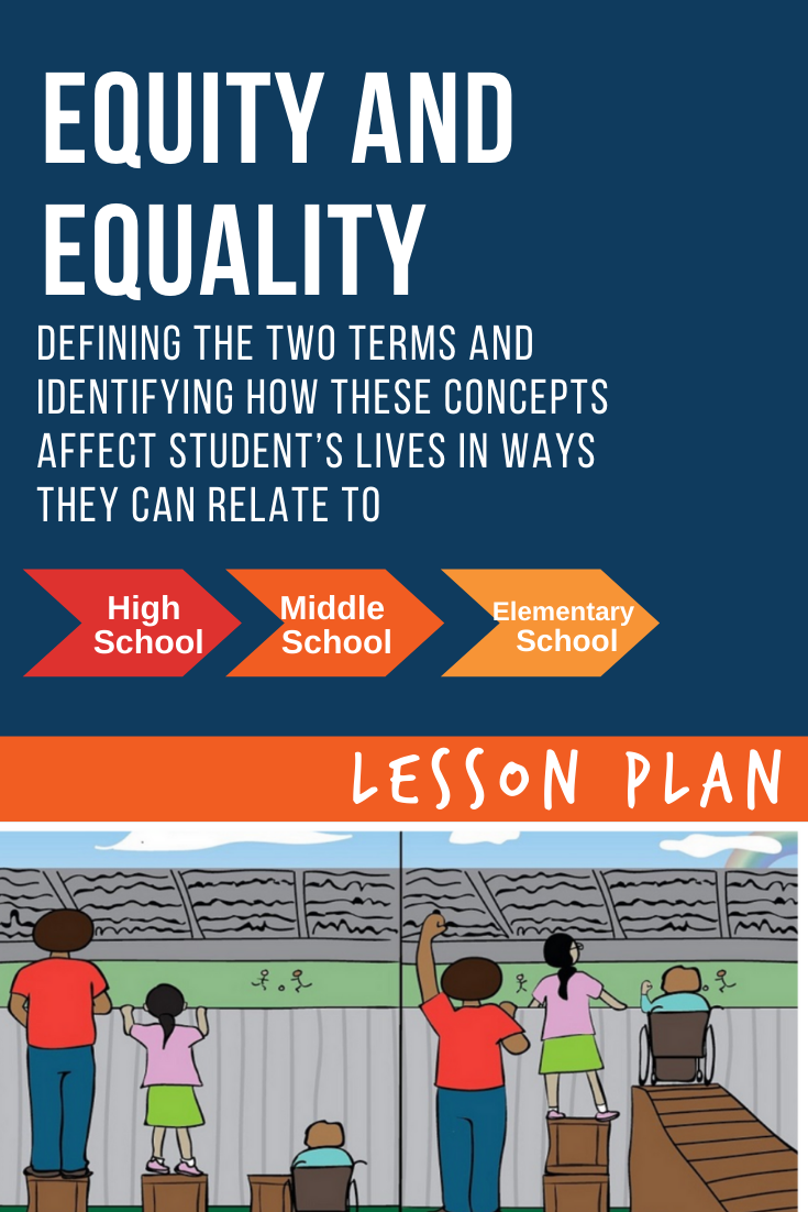 Equity and Equality Lesson