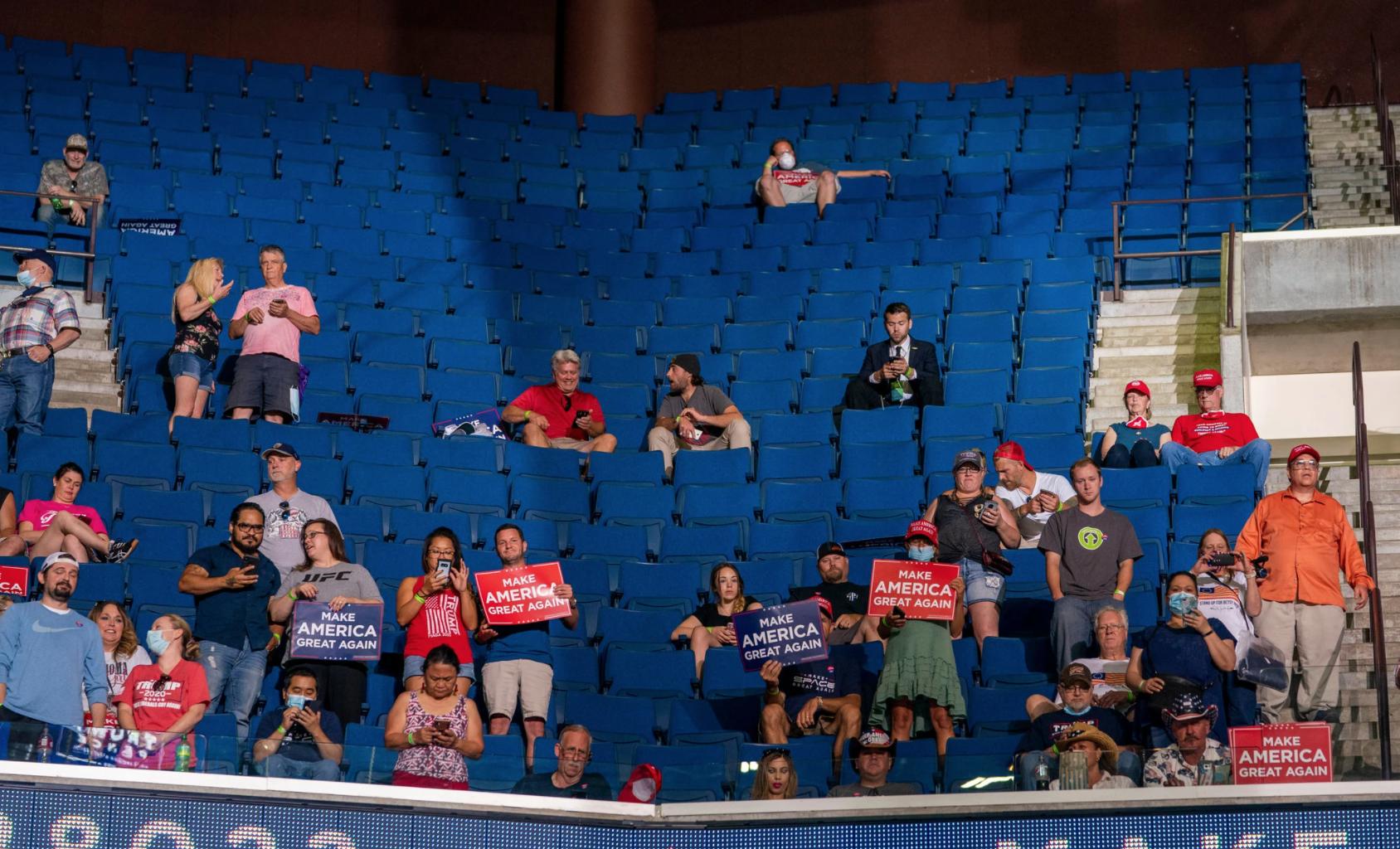 Teens weren't joking around when they tanked President Trump's Tulsa rally