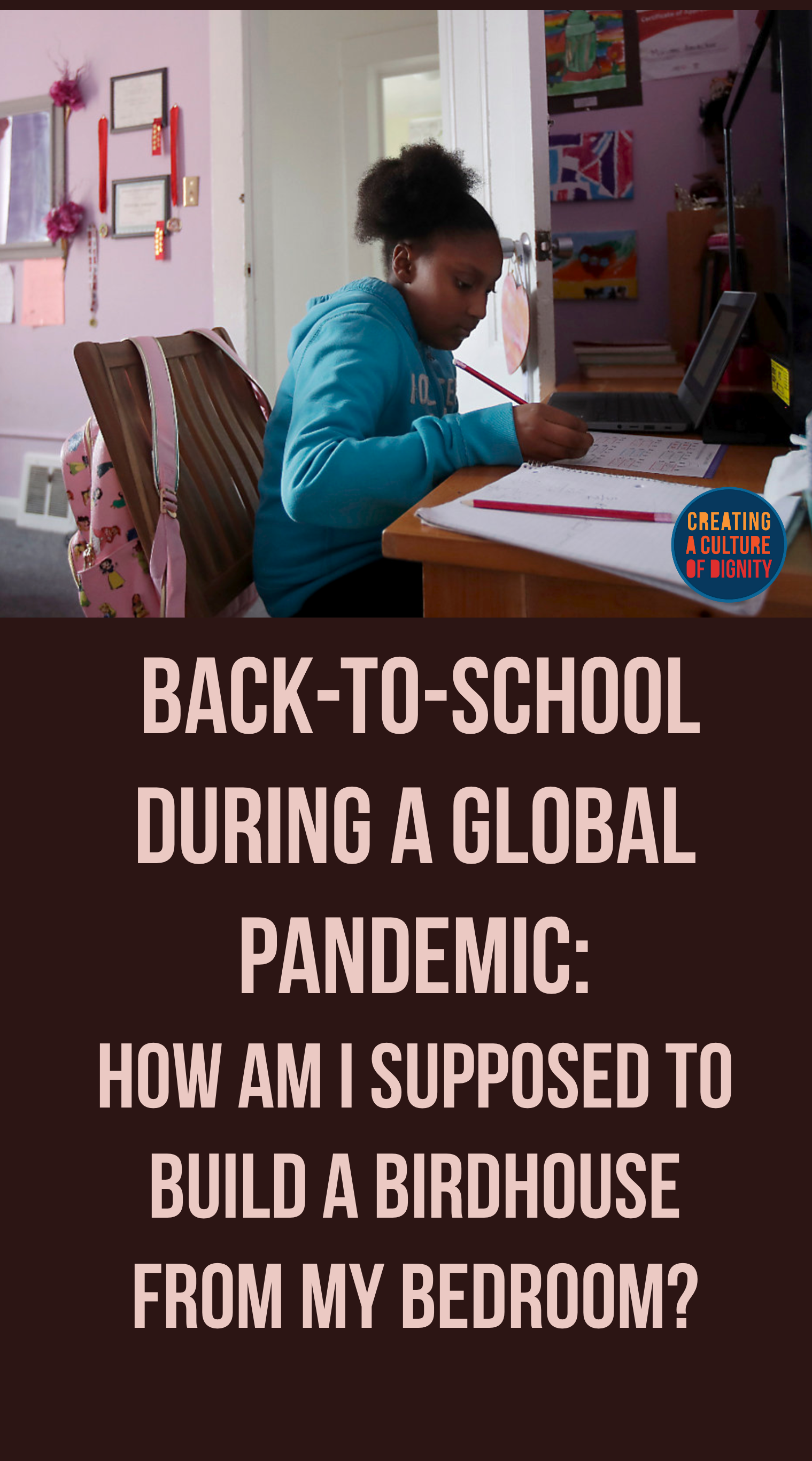 Back-to-School During a Global Pandemic: How am I supposed to build a birdhouse from my bedroom?