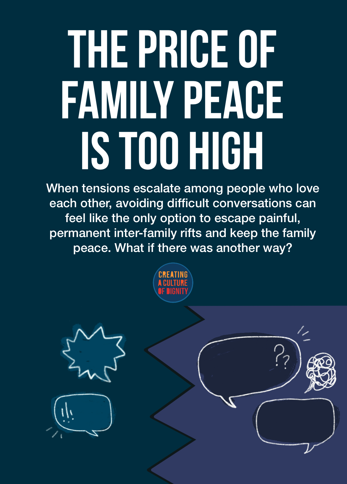 The Price of Family Peace is Too High
