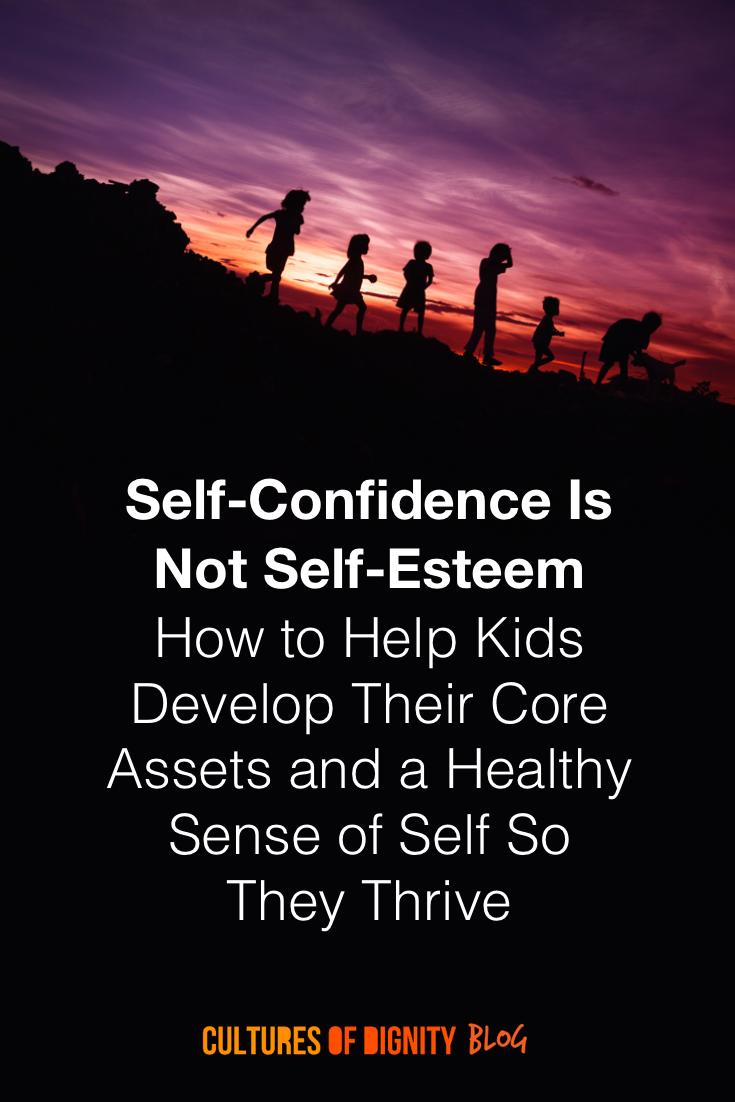Self-Confidence Is Not Self-Esteem