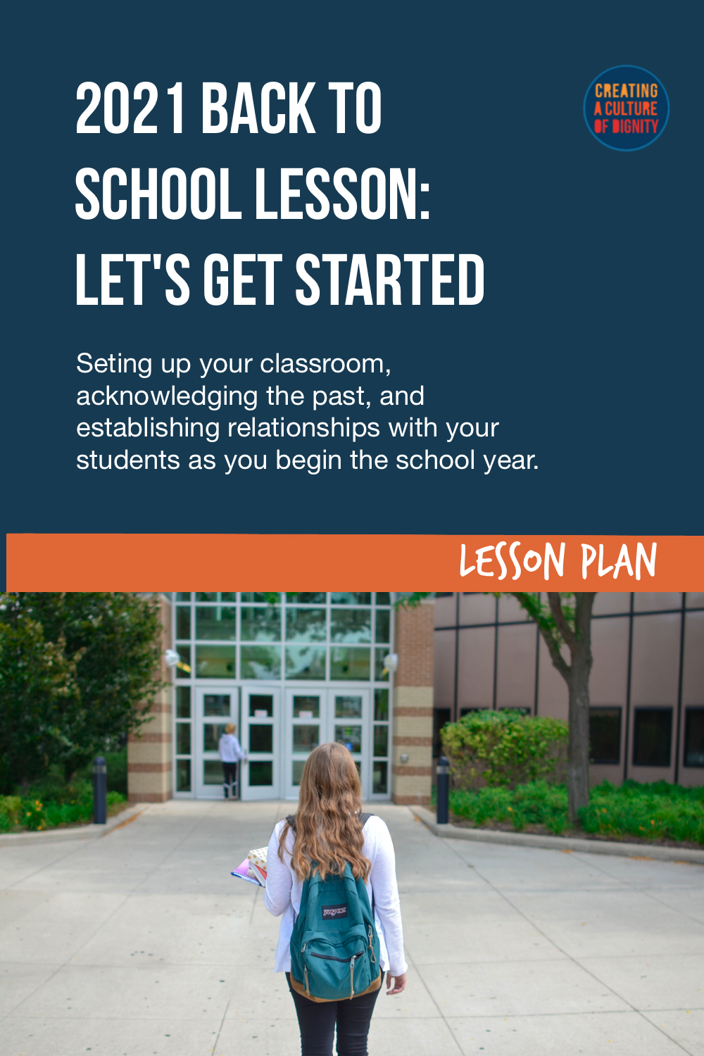 2021 Back to School Lesson: Let\'s Get Started